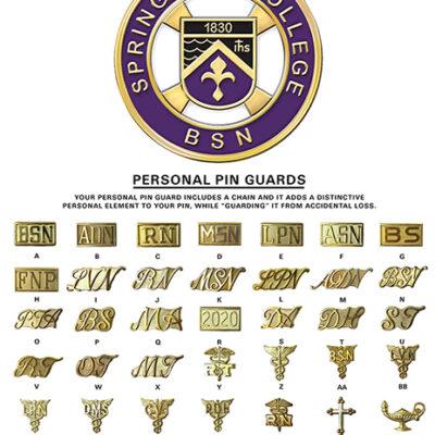 Nursing Pins and Guards